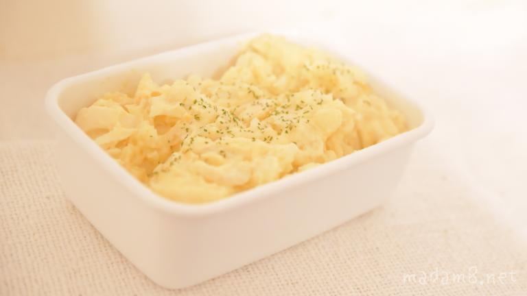 松田のマヨネーズで作ったポテトサラダ